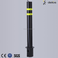 High Security Stainless Steel Removable Bollard