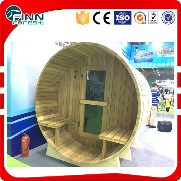 2016 New design hot sale solid wood steam sauna room for 4 person sauna