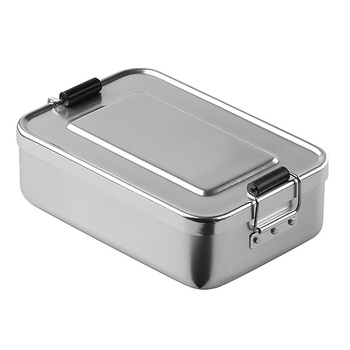 kitchen aluminum storage food container box  food container lunchbox bread lunch box