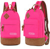 Fashion canvas backpack with comfortable design
