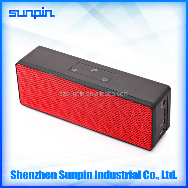 Stereo Loud Portable Bluetooth Speaker With Bass China Factory Made