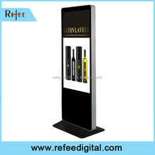 Excellent supplier for 32 42 55 Ipad style with wheels advertising player floor stand lcd ad totem
