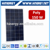 130w 135w 140w 160w 165w cheapest made in china 150w poly solar panel 150w sunpower panel mounting