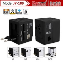CE FCC RoHS new design 5V 2500mA universal charger usb wifi travel adapter