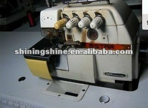 large stock used siruba 747 overlock industrial sewing machine