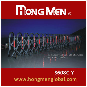 China New! Hot! Portable Manual Road Barrier Gates S608C-Y