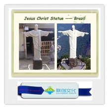 2015 chinese big fiber glass statue Jesus Christ Statue---Brazil
