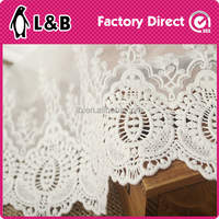 embroidery fabric for curtain/dress wholesale stretch lace fabric