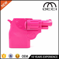 new product 2016 gun shape acrylic purse wholesale china acrylic purse QR2523
