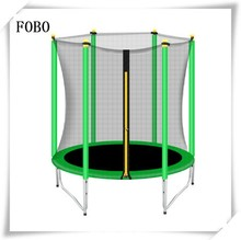 New style lovely cute deqing supplies fitness folding gym jumping Mini Trampoline Safety Net