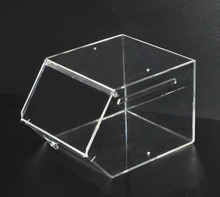 custom supermarket acrylic candy box dispenser in various sizes