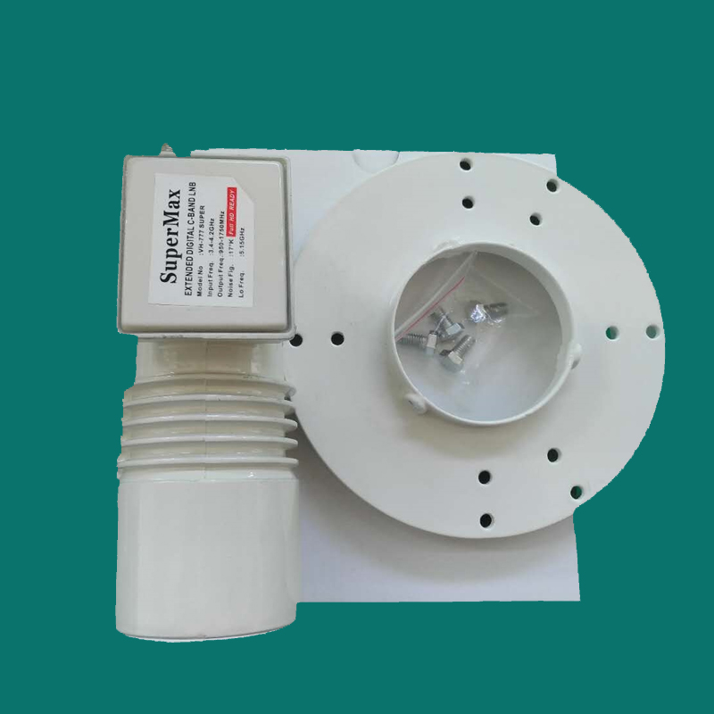 C band LNBF Integrated Feedhorn 2 Output L.O 5150MHZ Satellite LNB
