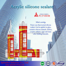 acetic silicone sealant for roof gutters/ acrylic-based silicone sealant supplier/ acid silicone sealant
