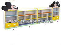 Wooden Mickey Children Toy Cabinet BH14901