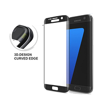High Definition Full Coverage 3D Curved 9H Tempered Glass Edge to Edge Screen Protector for Samsung Galaxy S7 edge