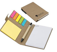 sticky note with kraft pen for promotions
