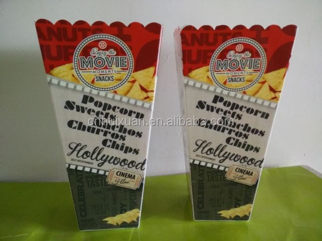 1000 ml plastic pop corn holder