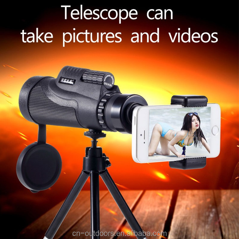 Can take pictures video telescope pocket-size monocular telescope