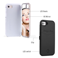 For Iphone Case Led New Fashion Multi-Function Led Mirror Makeup Case For Iphone 7 Cell Phone Case For Iphone 7