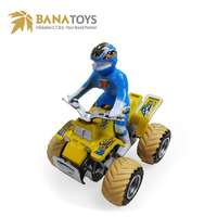 Kid racing games friction toy motorcycle