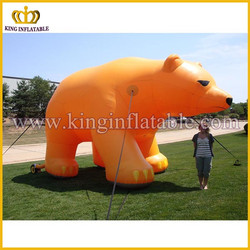 Giant inflatable polar bear, China inflatable animal, polar bear replica for display
