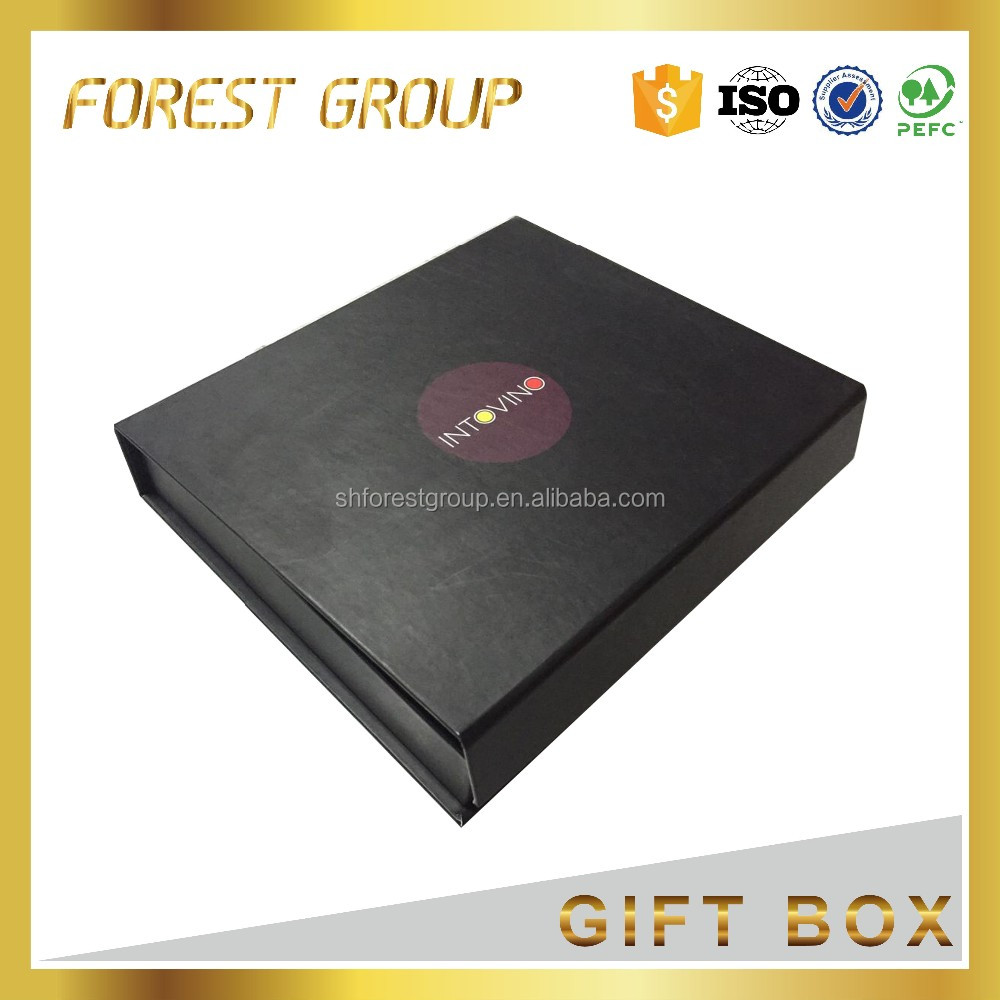 2017 wholesales luxury paper magnet <strong>box</strong> with close