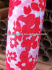 30gsm red flowers PET nonwoven roll floral wrap
