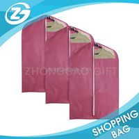 PVC Dust Cover No Logo Cheapest Wedding Dress nonwoven garment bags