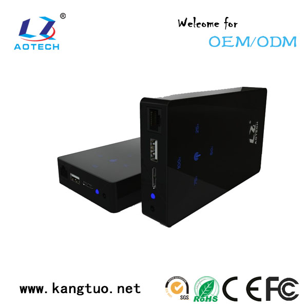 factory 300Mbps External HDD Enclosure with WIFI and 3500mAh Power Bank