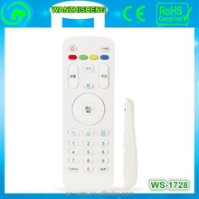 Environmental iptv television remote control with CE and ROHS