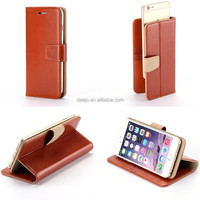 wholesale for iphone 6 leather case new flip case with slider universal case for 5.5 inch cell phone