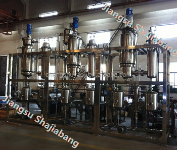 Three-stage Molecular Distillation System