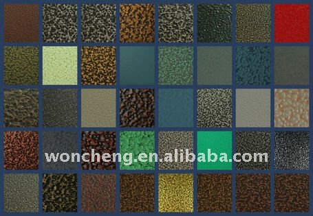 art texture finish powder coatings