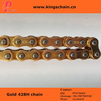 supply gold 428H 118L motorcycle chain