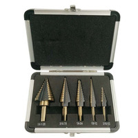 Small Drill Bit Set Aluminum Carry Case