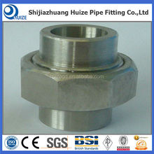 tube fitting 150 LBS stainless steel 304/316 union pipe fitting