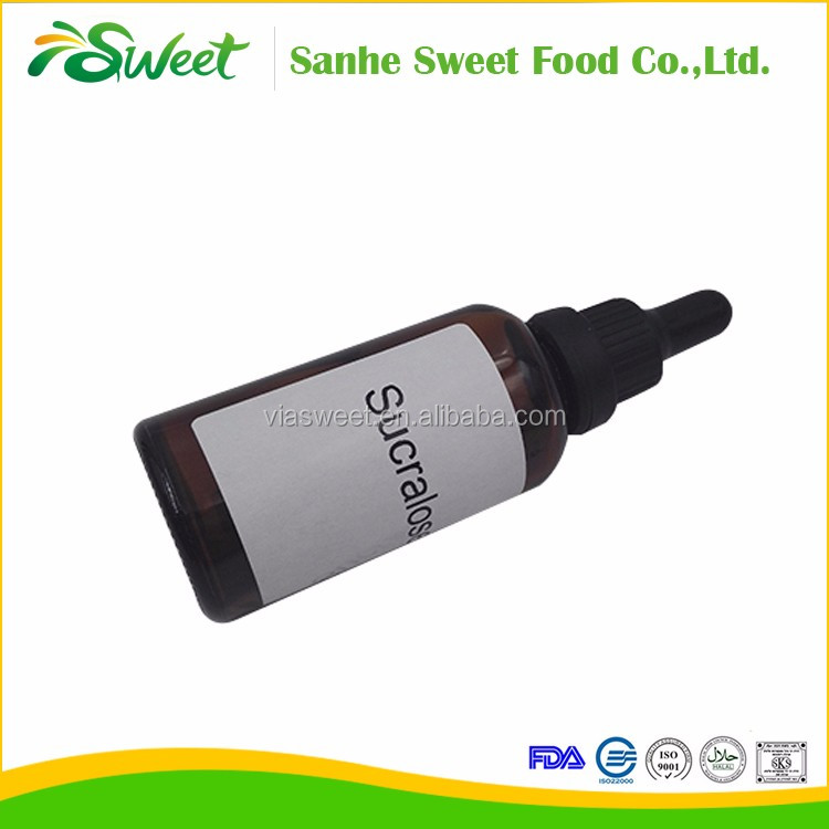 Free Sample Food Additives Sucralose Liquid With Best Price