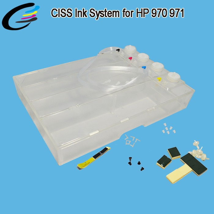 Hot Selling For Officejet Pro x576dw Big Ciss Tank For HP 970 971 Printer