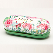 Wholesale PU metal double glasses case