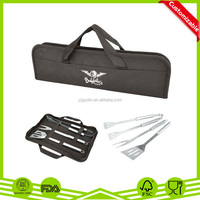 Deluxe Grill Accessories fabric storage Case with zipper(4pcs)