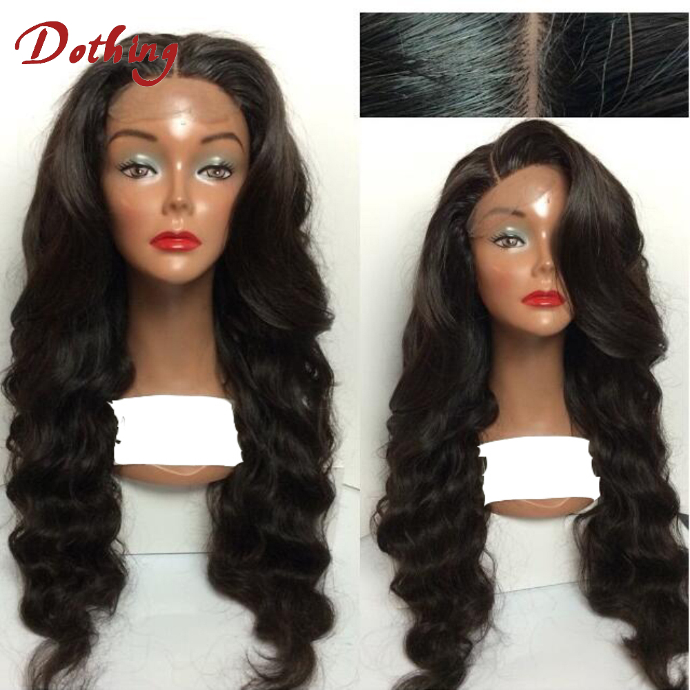 Hot Sale Glueless Brazilian Remy Hair Loose Wave Full Cuticle Lace Front Wig With Baby Hair