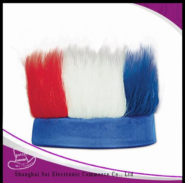 China manufacture best choice funny hat with hair