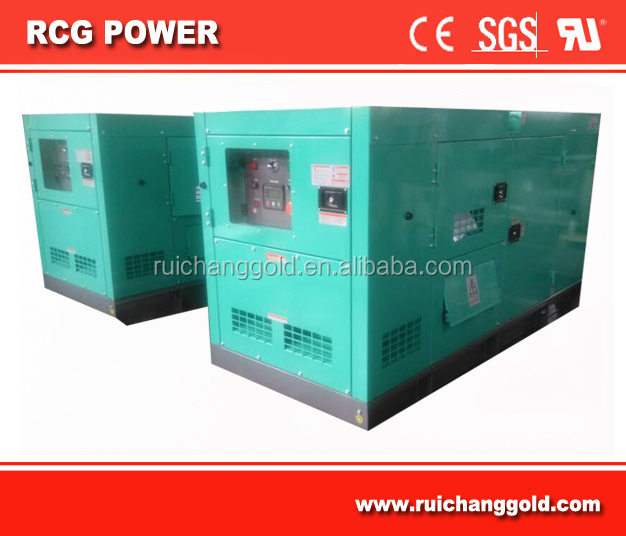 soundproof diesel generator set powered by 65kva