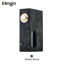 2017 Elego Stentorian Vapor RAM BF Box Mod, wood/resin creation bottom feeder box in stock