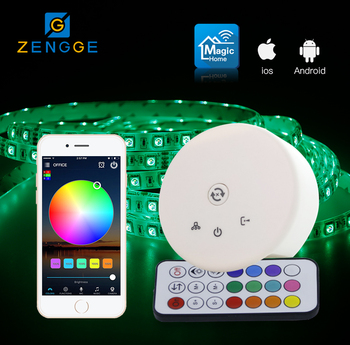 hot 2018 products,WiFi+RF ir led lighting remote controller for 4.8w led strip light by SmartPhone