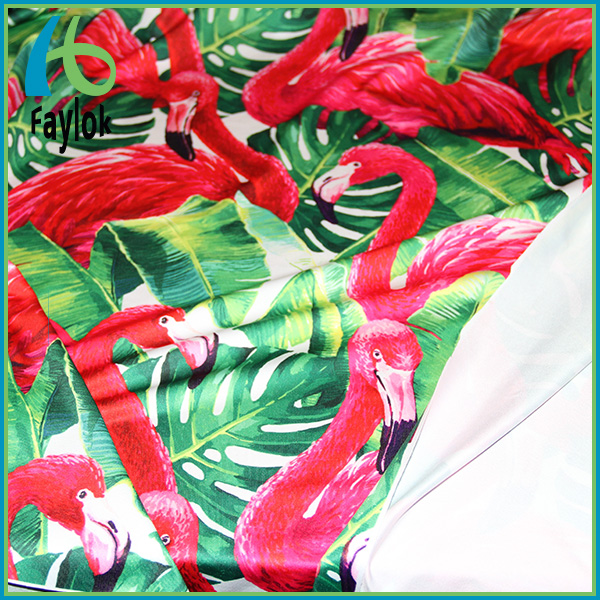 super hot digital printing lycra polyester spandex fabric with your own design