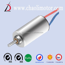 8mm high quality, low noise coreless motor CL-0820 for Medical equipment, navigation models, quadcopter