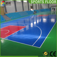 Modified PP used basketball flooring for sale