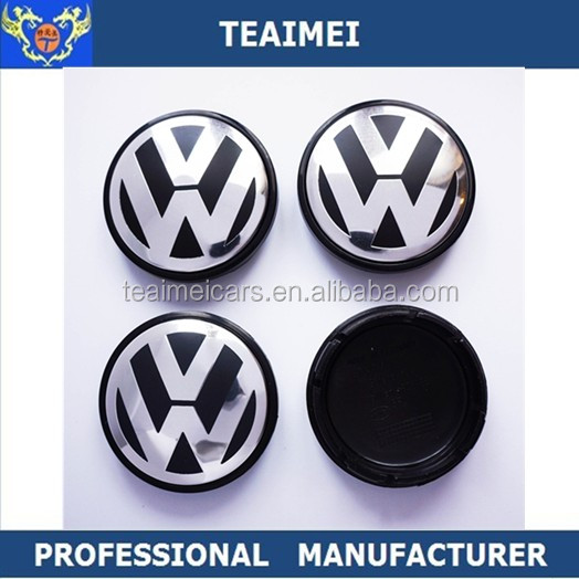 Best Price 55mm ABS Alloy Car Wheel Center Cap For VW