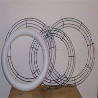 Christmas wire wreath rings wholesale